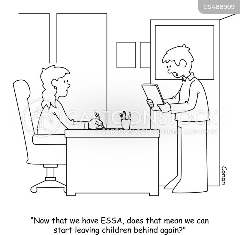 every student succeeds act cartoon
