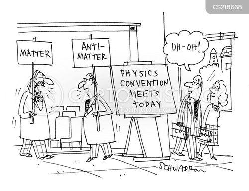 anti-matter cartoon