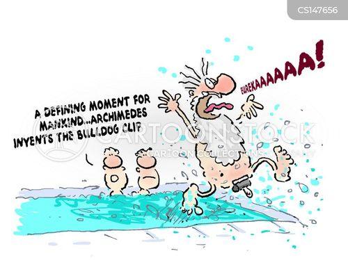 defining moment cartoon