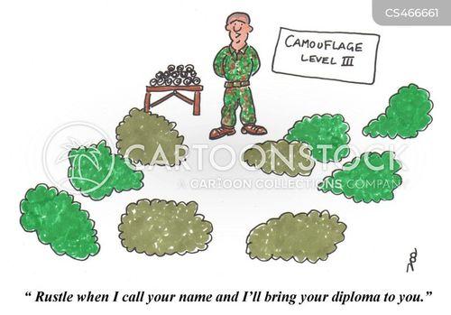 training camp cartoon