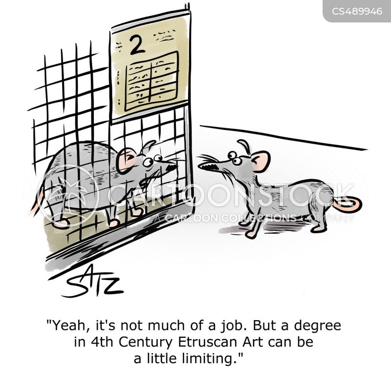 arts degree cartoon
