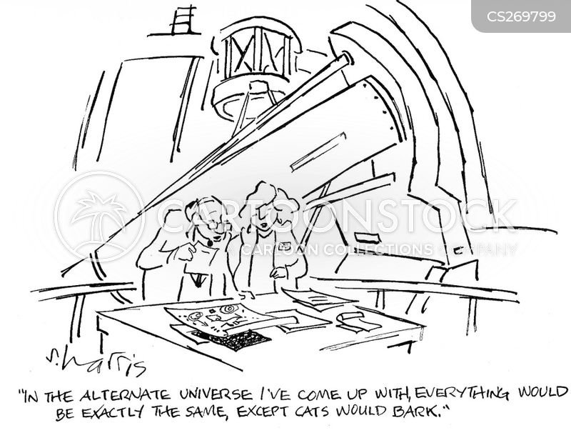 scientific equation cartoon