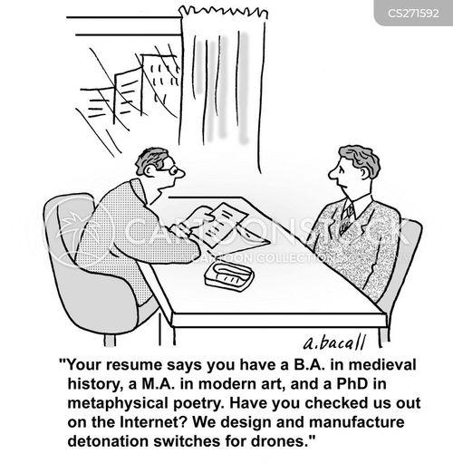 curriculum vitae para buscar empleo