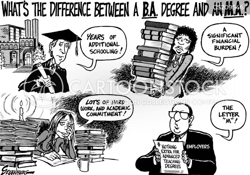 Masters and doctoral degrees