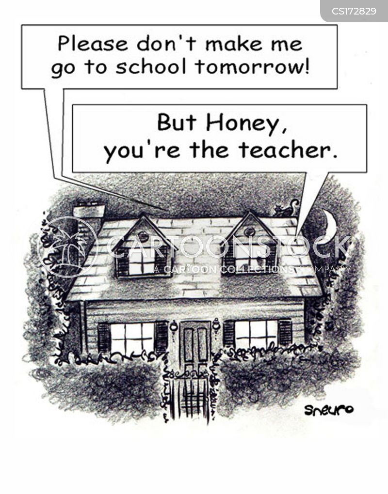 Back To School Cartoons and Comics - funny pictures from CartoonStock