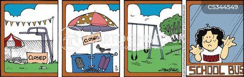 school year cartoon