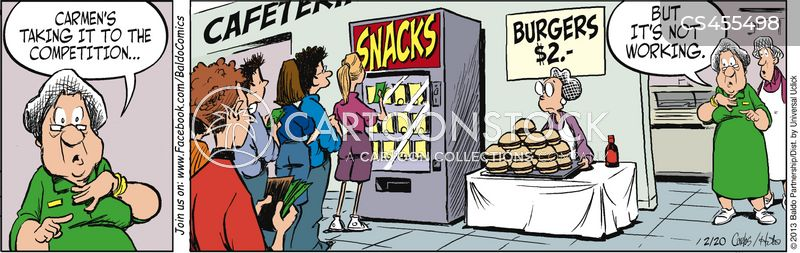 vend cartoon