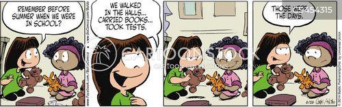 last week cartoon