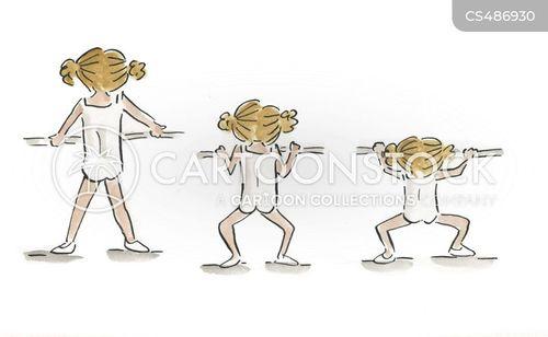 ballet lessons cartoon