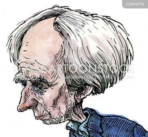 bertrand russell cartoon