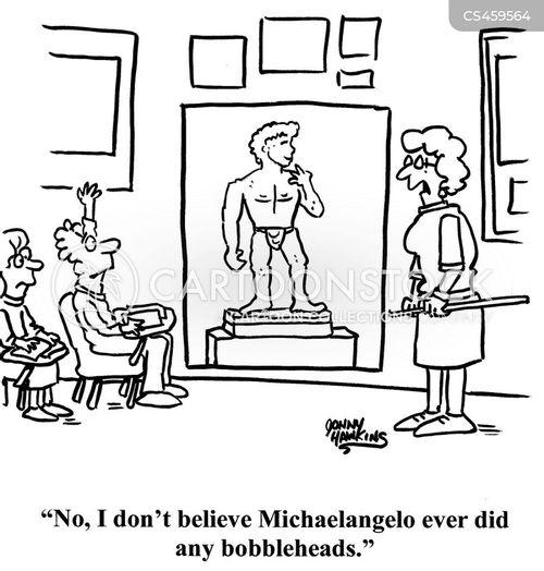 art teacher cartoon
