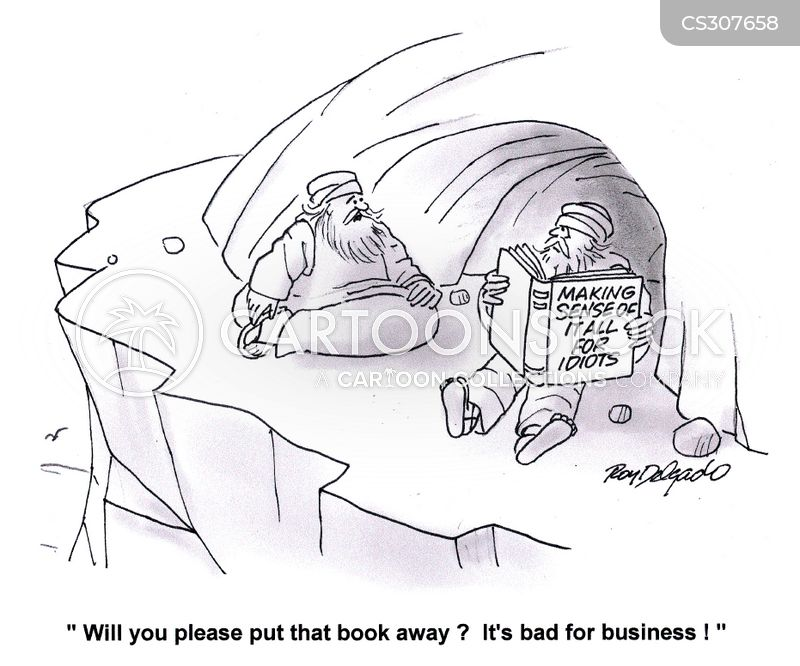 bad for business cartoon