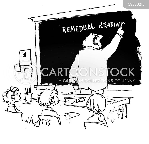 reading book cartoon