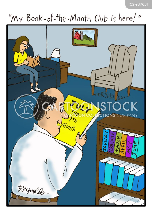 bibliophiles cartoon