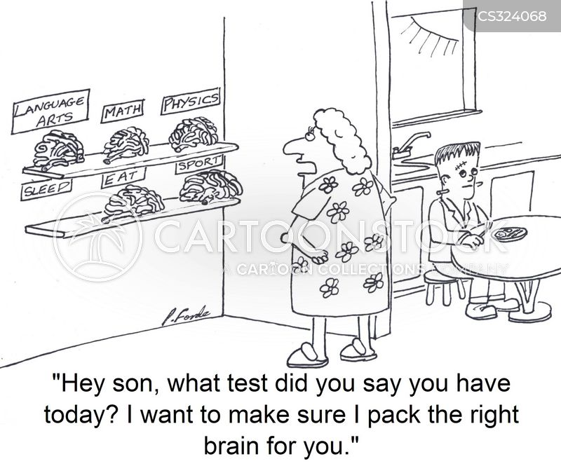 brain food cartoon