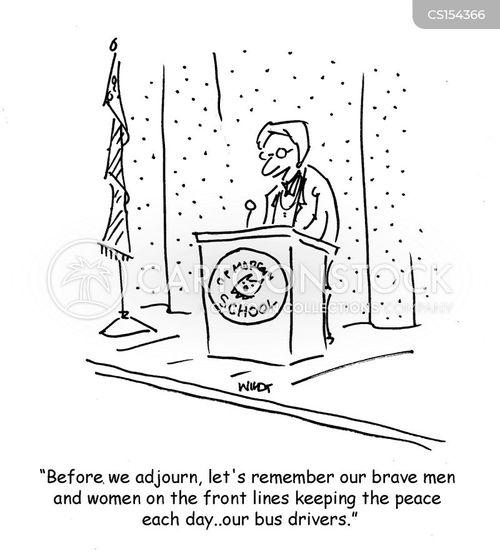 tribute cartoon