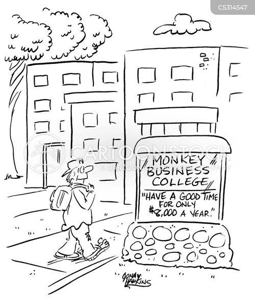 school fee cartoon