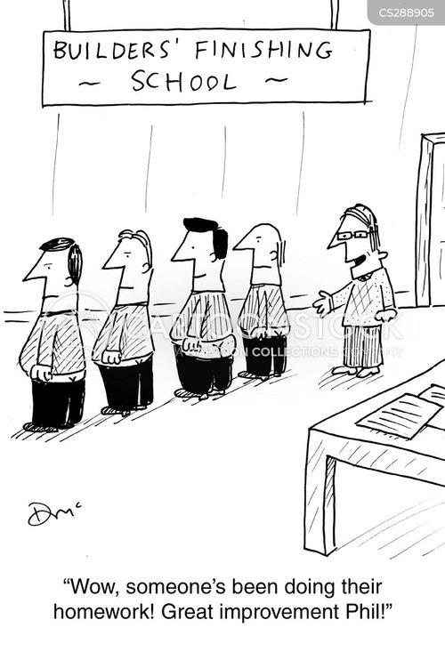Familie Kerl Zeichentrickbilder