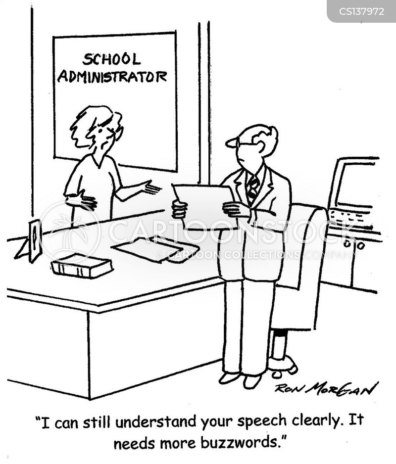 school administrator cartoon