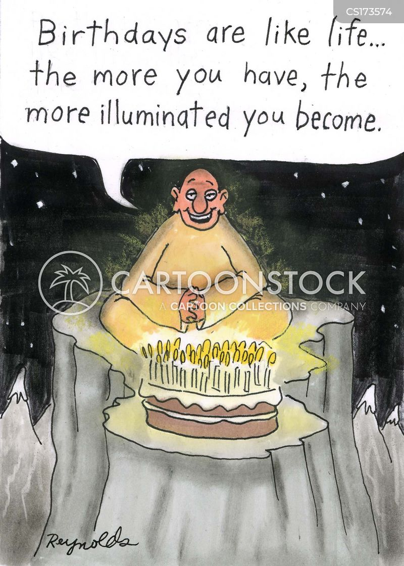 candle cartoon