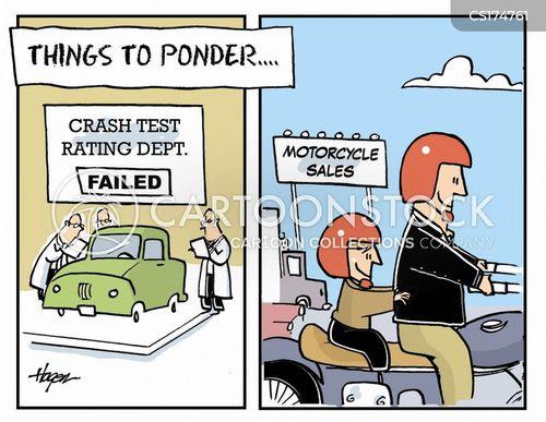 motorcycle cartoon