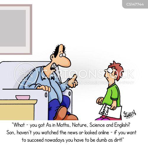 successful careers cartoon