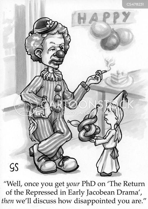 postgraduate cartoon