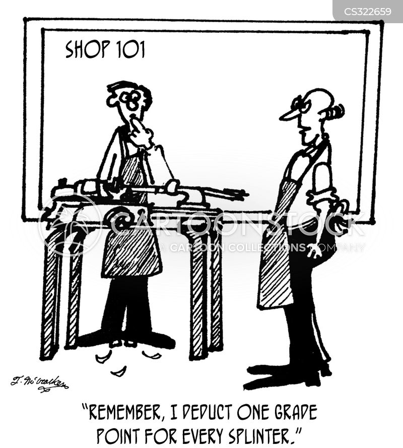 woodworkers cartoon