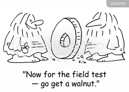 field tests cartoon