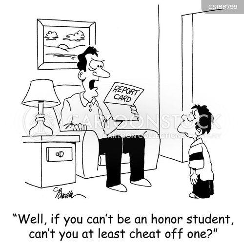 honor student cartoon