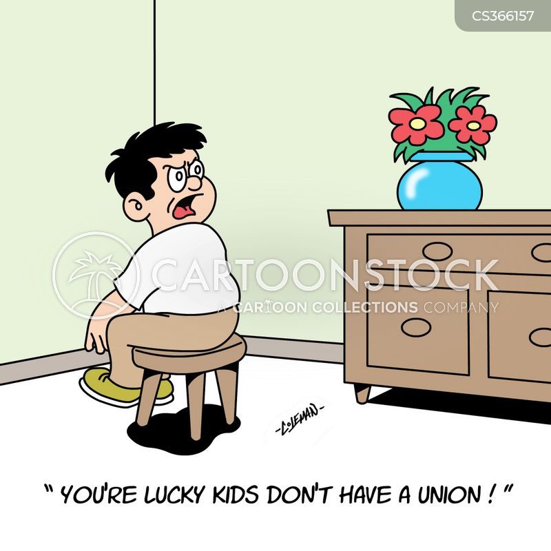 child discipline cartoon