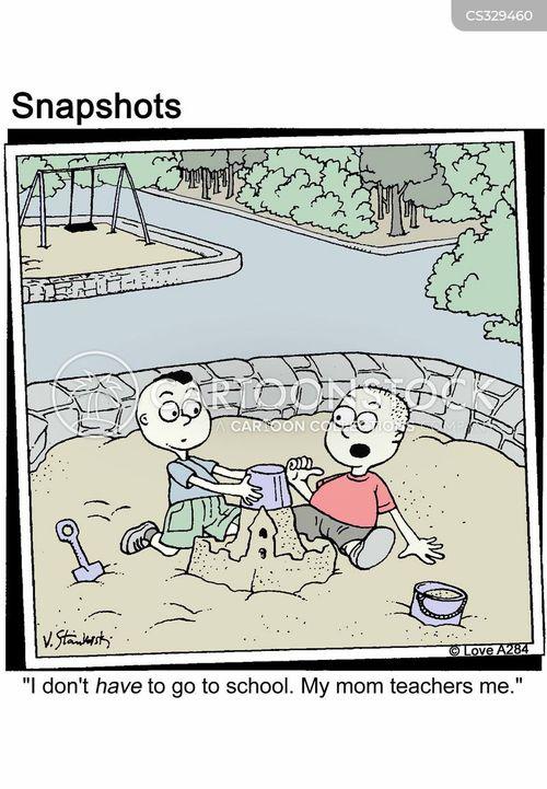 home educated cartoon