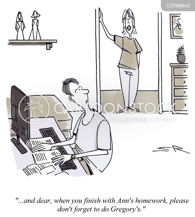 duties cartoon