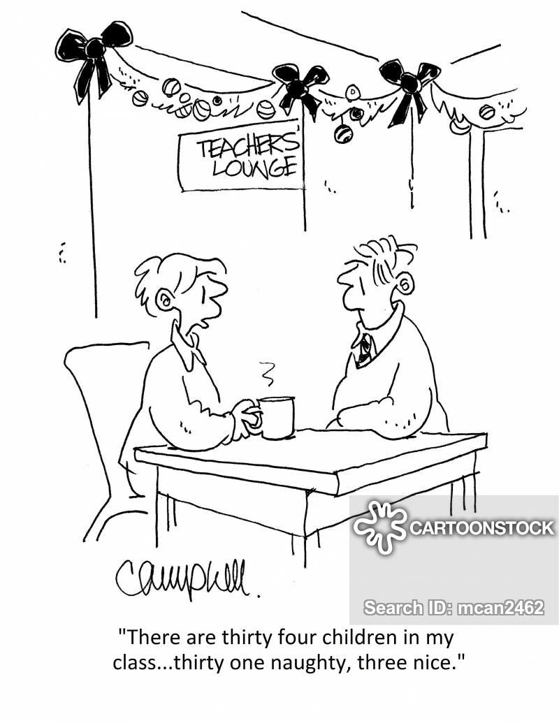 staff lounge cartoon