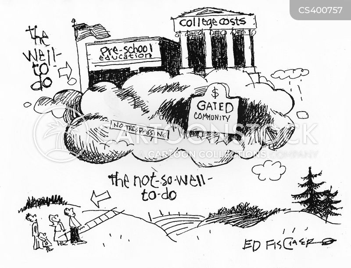 state school cartoon