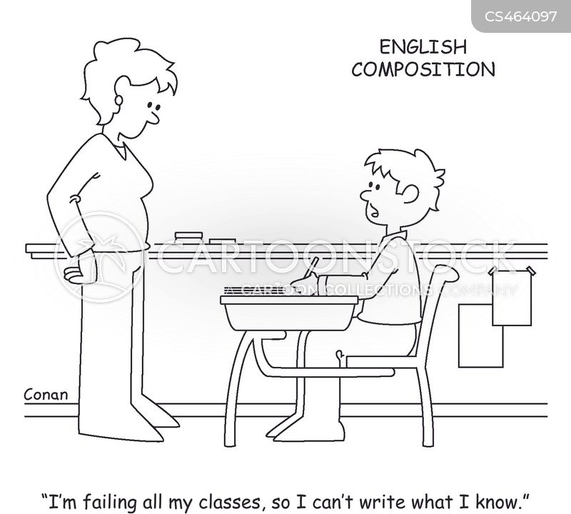 writing projects cartoon