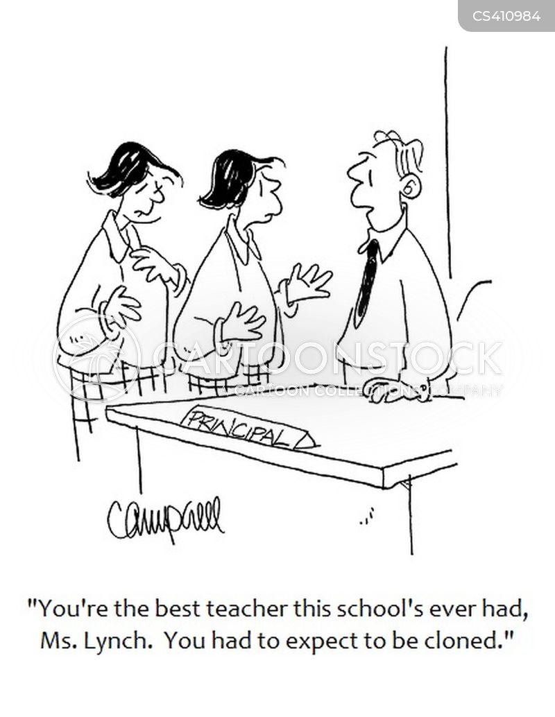 teaching career cartoon