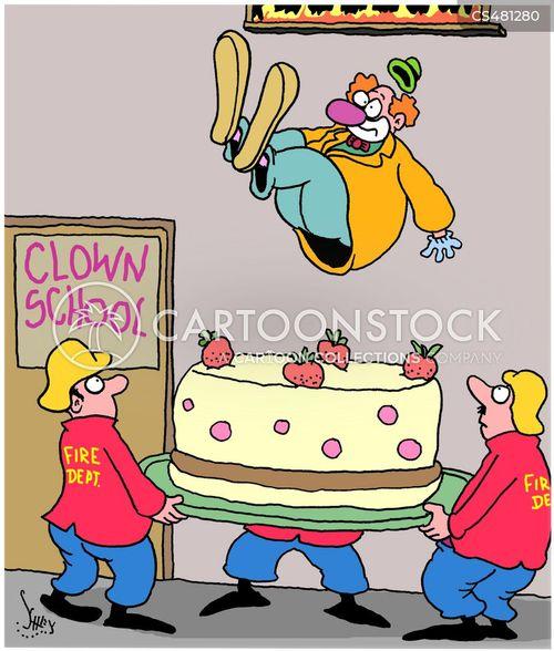 clown schools cartoon