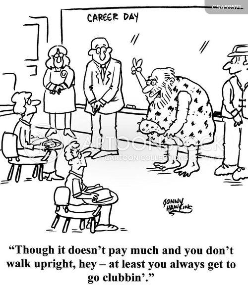 careers day cartoon
