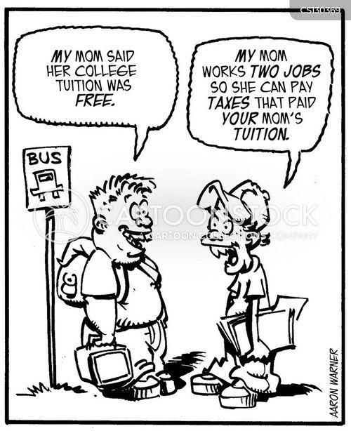 rising cost cartoon