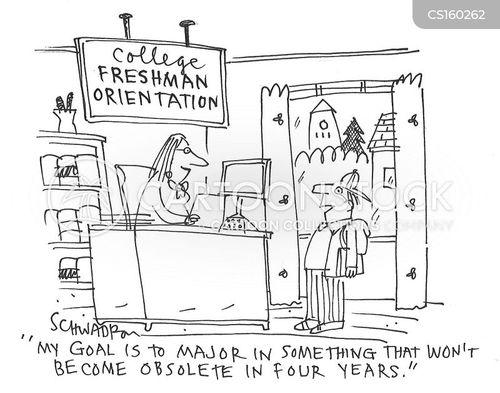 college education cartoon