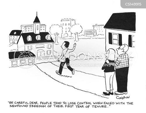 tenures cartoon