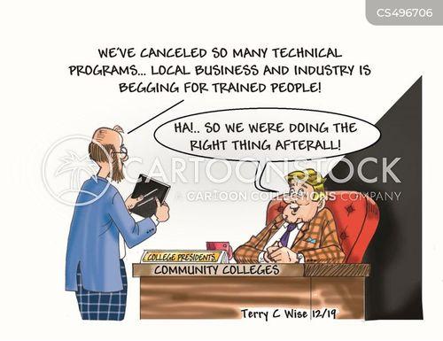 vocational cartoon