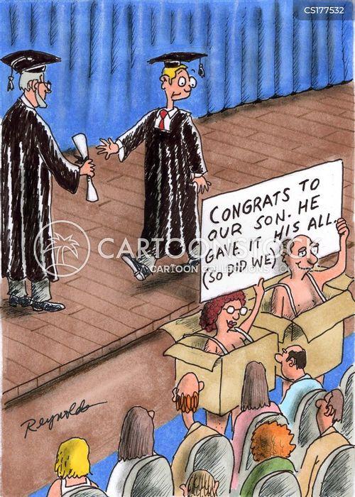diploma cartoon