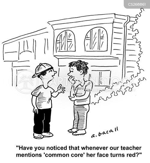educational standard cartoon