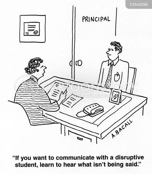 disruption cartoon