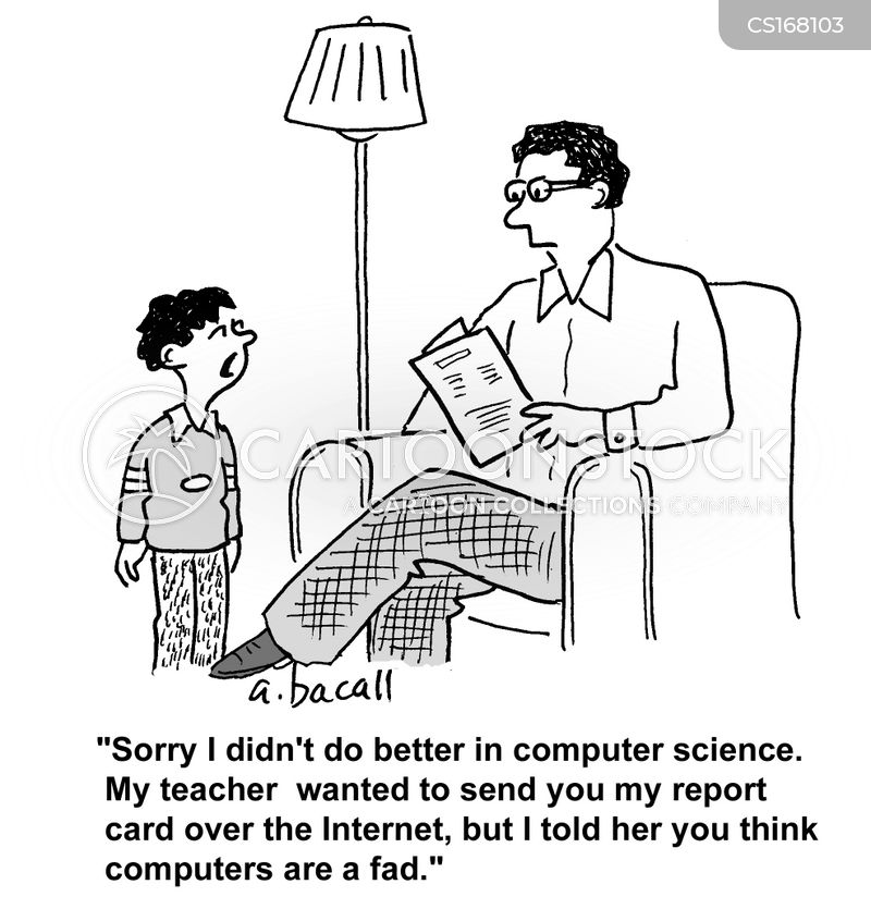 it lessons cartoon