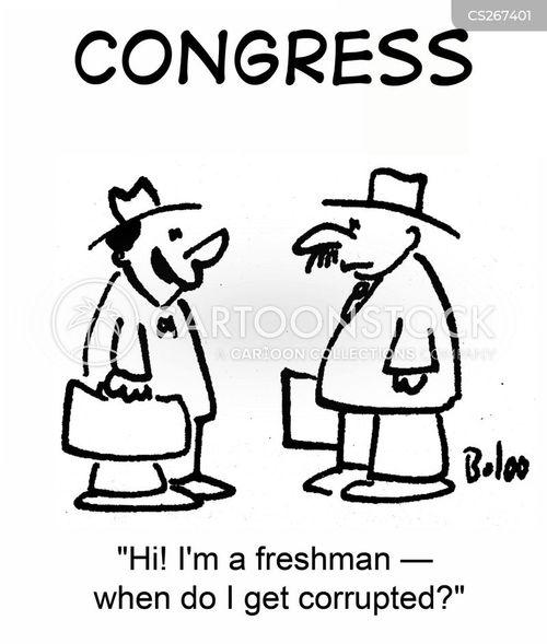 freshman cartoon
