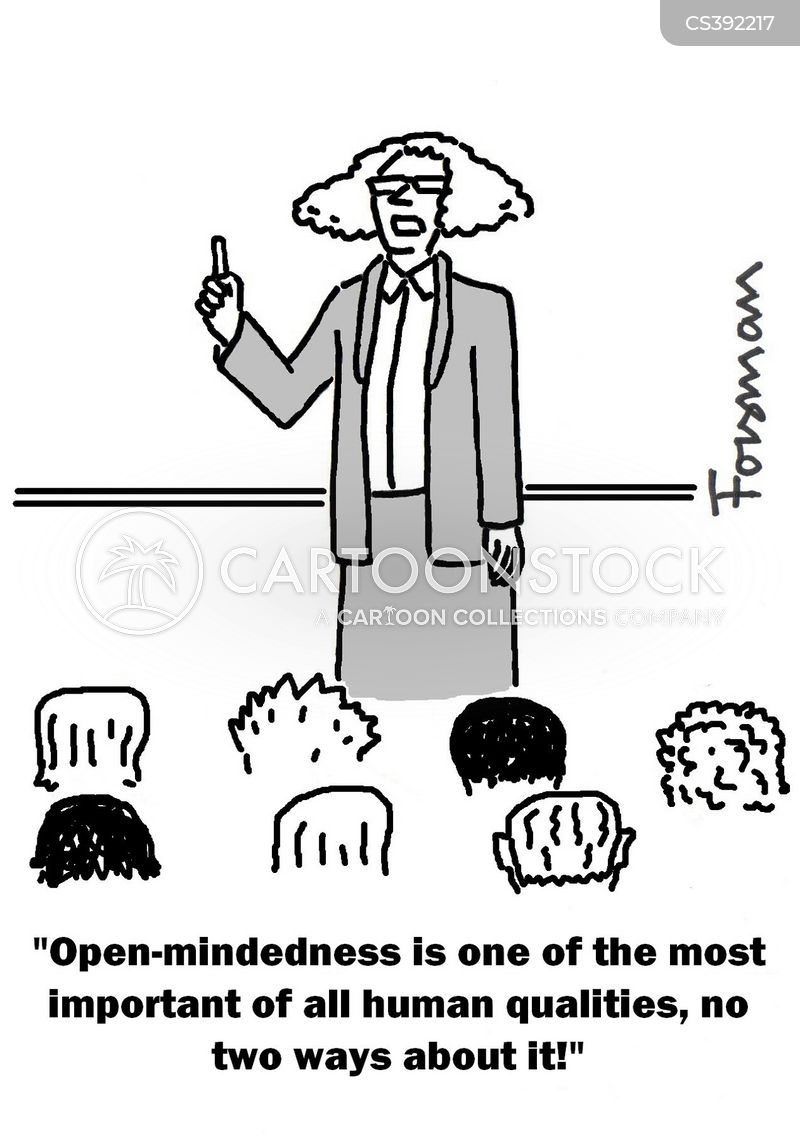 open-minded cartoon