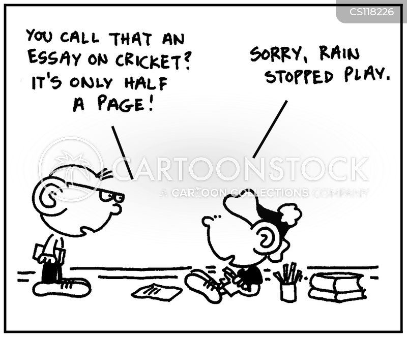 Essay Writing Cartoons And Comics  Funny Pictures From Cartoonstock Essay Writing Cartoon  Of